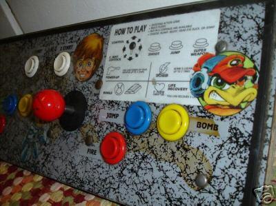 bucky o hare arcade cabinet